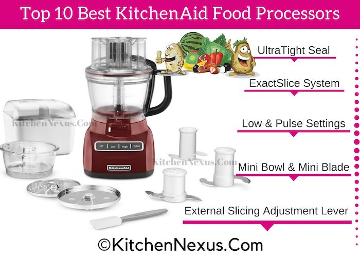 Top 10 Best KitchenAid Food Processor Reviews