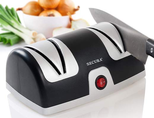 Secura Electric Knife Sharpener 2-Stage Kitchen Knives Sharpening System
