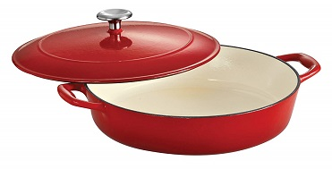 Tramontina 80131/050DS Enameled Cast Iron Covered Braiser