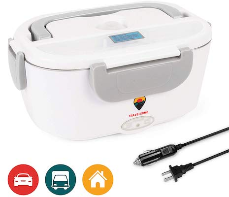 Electric Lunch Box 2 in 1 for Car:Truck and Work 110V & 12V 40W