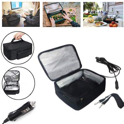 Portable Oven 12V Personal Food Warmer for Prepared Meals Lunch