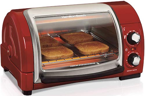 Hamilton Beach Easy Reach Countertop Toaster Oven