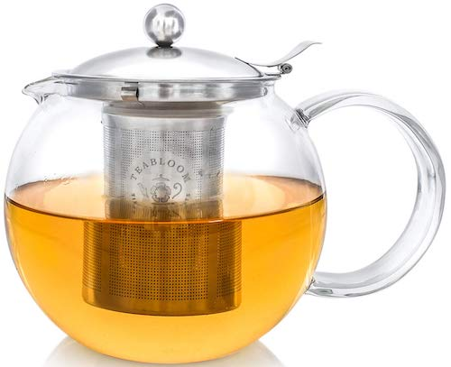 NEW DESIGN Stovetop Safe Lead-Free Glass Teapot Kettle