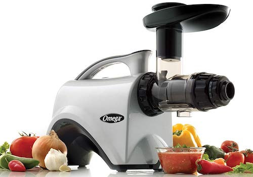 Omega Juicer NC800HDS Juicer Extractor and Nutrition Center