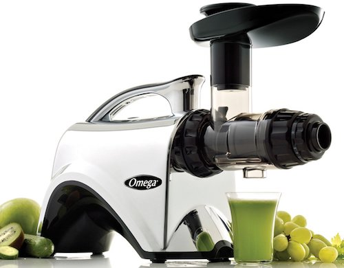 Omega NC900HDC Juicer Extractor and Nutrition Center Creates Fruit Vegetable and Wheatgrass Juice