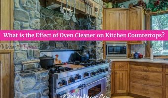 Oven Cleaner On Kitchen Countertops