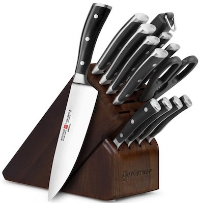 Wusthof Classic Ikon 14-piece Knife Block Set