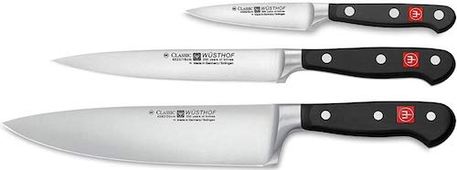 Wusthof 3 Piece Cooking Knife Set