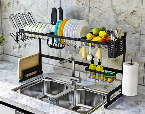 Topkitch Over The Sink Dish Drying Rack