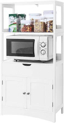 VASAGLE Freestanding Entryway Kitchen Pantry with Drawer