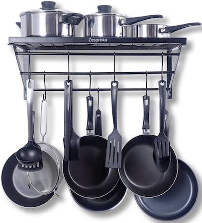 7 Best Wall Mounted Pot Rack For Kitchen In 2021 Reviewed Kitchen Nexus