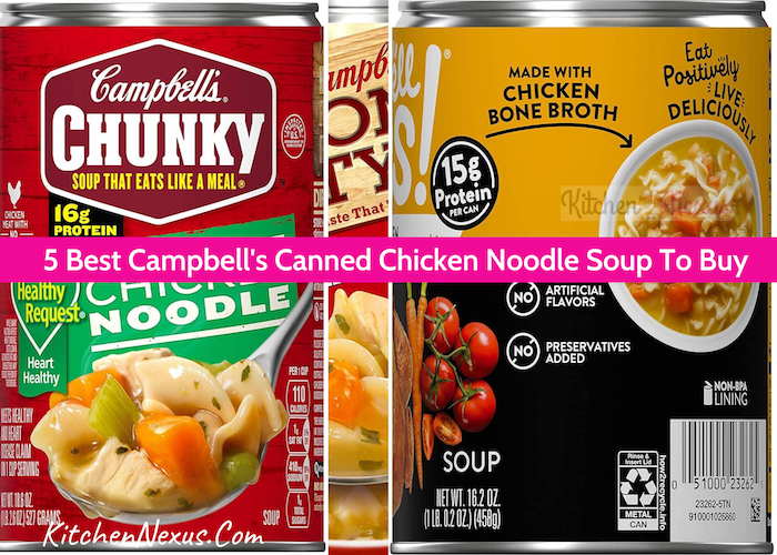 Best Campbell's Canned Chicken Noodle Soup