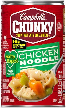 Campbell's Chunky Healthy Request Soup, Chicken Noodle