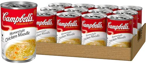 Campbell's Condensed Homestyle Chicken Noodle Soup