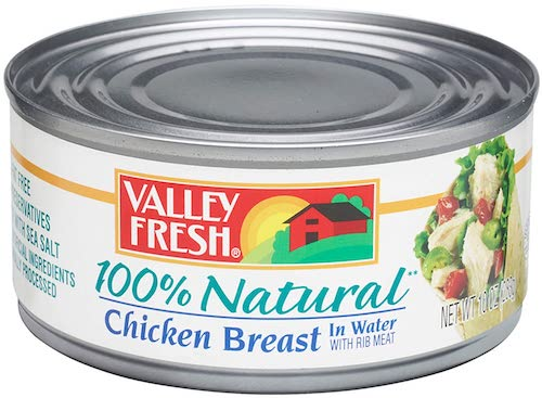 Valley Fresh Chicken Breast in Water with Rib Meat