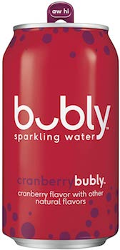 bubly Cranberry Sparkling Water
