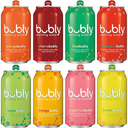 bubly Sparkling Water 8 Flavor