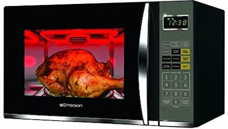 Emerson 1.2 CU. FT. 1100W Griller Microwave Oven with Touch Control