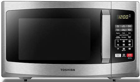 Toshiba EM925A5A-SS Microwave Oven with Sound On:Off