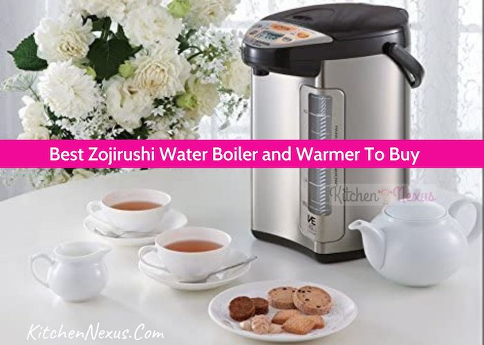 Best Zojirushi Water Boiler and Warmer Review