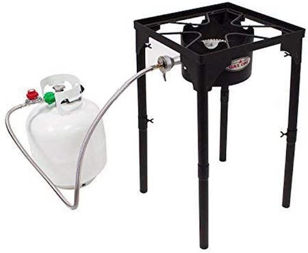 GasOne Portable Propane 100, 000-BTU High Pressure Single Burner