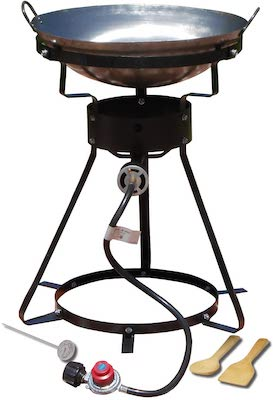 King Kooker Portable Propane Outdoor Cooker with Wok