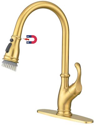 AIMADI Touch Gold Kitchen Faucet