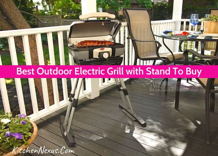Best Outdoor Electric Grill with Stand Reviews