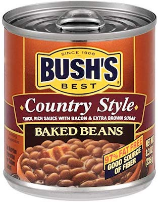 Bush's Best Country Style Baked Beans, Canned Beans