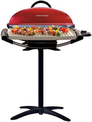 George Foreman GFO201RX Indoor:Outdoor Electric Grill