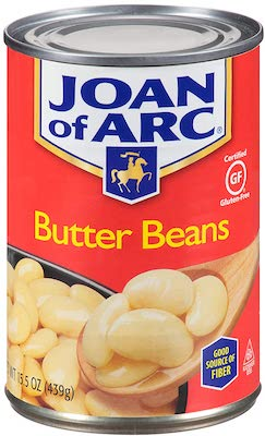 Joan of Arc Beans, Butter Beans