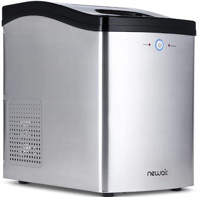 NewAir Nugget Ice Maker, Sonic Speed Countertop