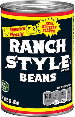 RANCH STYLE Black Label Black Beans