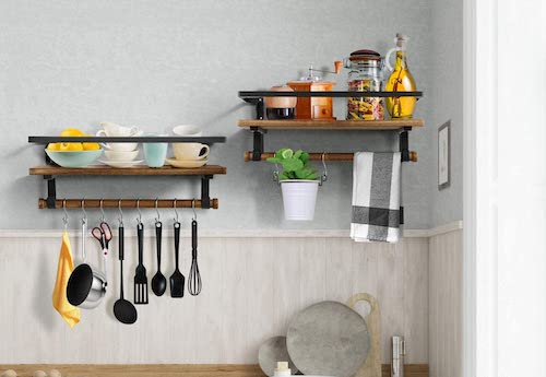 Wall Racks for Kitchen